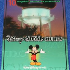 Postales: SET DE 10 POSTALES - DISNEY MGM STUDIOS - WALTDISNEY WORLD. Lote 296068993