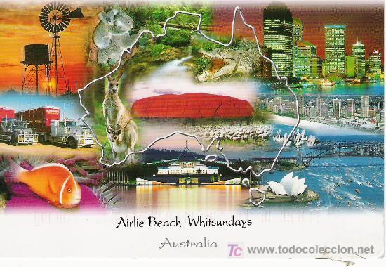 AUSTRALIA. AIRLIE BEACH WHITSUNDAYS (Postales - Postales Extranjero - Oceanía)