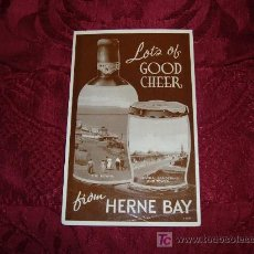 Postales: LOTS OF GOOD CHEER FRON HERNE BAY,PHOTOTYPE VALENTINE SONS LTD LONDON. Lote 11988075