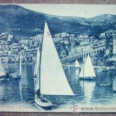 Postales: POSTAL DE MONTE-CARLO LA CONDAMINE , ET LE PORT PENDANT LES REGATES,. Lote 22818747