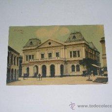 Postales: SINGAPORE . GENERAL POST OFFICE . CIRCULADA . SELLO ARRANCADO .POSTAL COLOREADA . Lote 20179420
