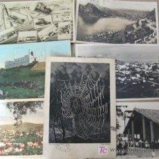 Postales: LOTE DE 9 POSTALES ANTIGUAS, DIFERENTES PAÍSES -. Lote 27006691