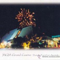 Postales: AUSTRALIA MGM GRAND CASINO POSTAL CIRCULADA. Lote 27974914