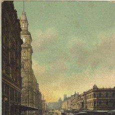Postales: MELBOURNE - CALLE BOURKE. Lote 28492868