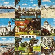 Postales: MELBOURNE (CIRCULADA EN 1973). Lote 30746458