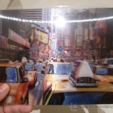 Postales: LAMINA MEDIANA TAXI NEW YORK NOVA YORK ESTADOS UNIDOS ( LOGOGRAFICA , CON VISION TRIDIMENSIONAL ). Lote 33562513