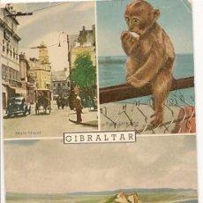 Postales: GIBRALTAR - POSTAL ANTIGUA. Lote 33768448