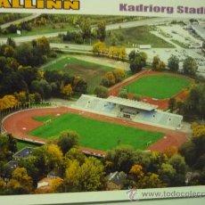 Postales: POSTAL ESTONIA FUTBOL ESTADIO KADRIORG -TALLINN. Lote 34314398