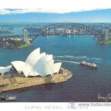Postales: THEOPERA HOUSE, SYDNEY HARBOUR AUSTRALIA - SYDNEY COLLECTION - SIN CIRCULAR. Lote 34691372