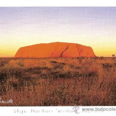 Postales: ULURI NORTHERN TERRITORY AUSTRALIA - AUSTRALIA COLLECTION - SIN CIRCULAR. Lote 34691403