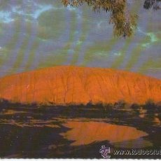 Postales: == C642 - POSTAL - SUNRISE EFLECTION OF AYERS ROCK. Lote 35383402