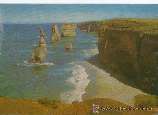 == C638 - POSTAL - A VIEW OF THE TWELVE APOSTLES - PORT CAMPBELL - VICTORIA (Postales - Postales Extranjero - Oceanía)