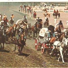 Postales: LOTE B POSTAL CANADA CARRERA CARROS CABALLOS AÑOS 60-70. Lote 36920185