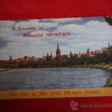 Postales: JUEGO DE POSTALES DE MELBOURNE - 1956. Lote 37078263