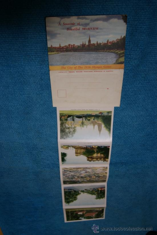 Postales: JUEGO DE POSTALES DE MELBOURNE - 1956 - Foto 3 - 37078263