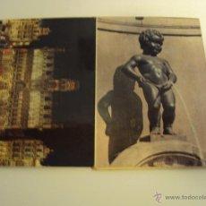 Postales: POSTALES BRUSELAS. Lote 39354987
