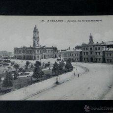 Postales: ANTIGUA POSTAL, ADELAIDE, JARDIN DEL GOBERNADOR, NO CIRCULADA. Lote 38276191