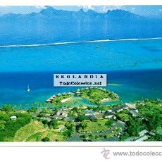 Postales: POSTAL TAHITI VISTA PANORAMICA PLAYAS OCEANO. NUEVA SIN ESCRIBIR. Lote 41254856