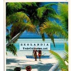 Postales: POSTAL ESCENA VIDA DE LA POLINESIA. Lote 41254877