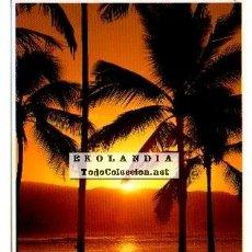 Postales: POSTAL TAHITI. PUESTA DE SOL. Lote 41254895