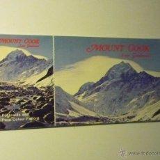 Postales: CARPETA POSTALES NUEVA ZELANDA MOUNT COOK- 6 VISTAS. Lote 42641087