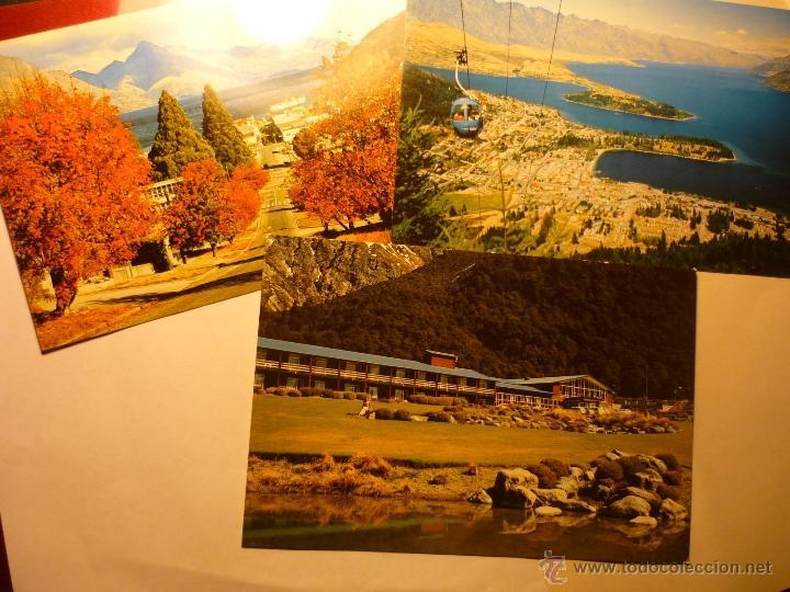 LOTE POSTALES NUEVA ZELANDA (Postales - Postales Extranjero - Oceanía)