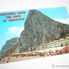 Postales: POSTAL-GIBRALTAR-PARTE ESTE-ESCRITA-NO CIRCULADA-1967-NUEVA-.. Lote 42792679