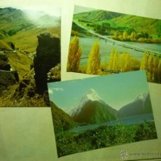 Postales: LOTE POSTALES NUEVA ZELANDA.-. Lote 42877548