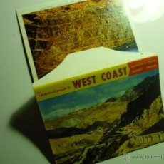 Postales: CARPETA POSTALES TASMANIA WEST COAST 11 FOTOS PAPEL. Lote 43152370
