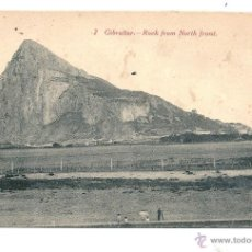 Postales: GIBRALTAR 2.- ROCK FROM NOTH FRONT J.M. DANAN 266 UNION POSTALE POST CARD . Lote 43339796