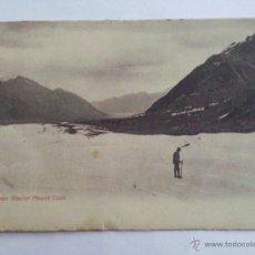 Postales: POSTAL MONTE COOK, GLACIAR TASMAN, AÑO 1905. Lote 44685480