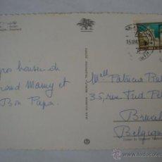 Postales: TARJETA POSTAL ORIGINAL LIBAN LIBANO LEBANON CIRCULADA CON SELLO AÑOS 60/70. Lote 45223817