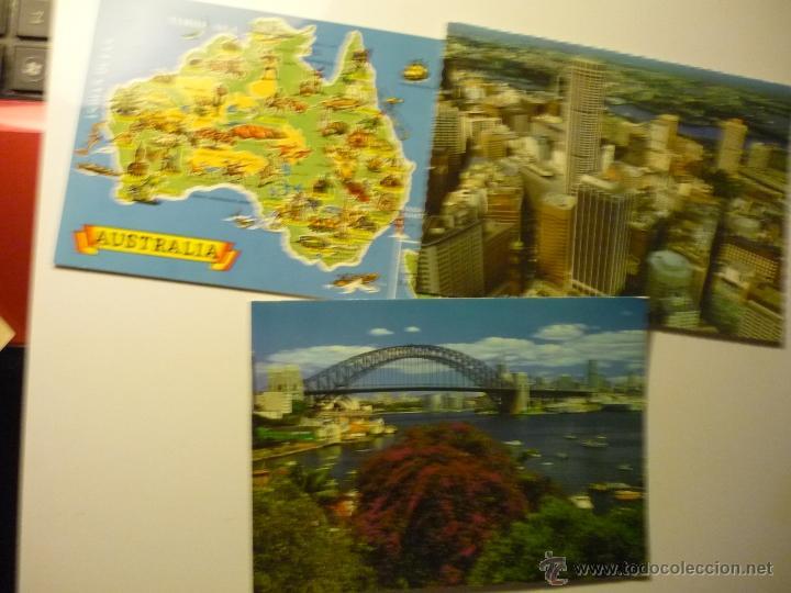 LOTE POSTALES AUSTRALIA-SIDNEY (Postales - Postales Extranjero - Oceanía)