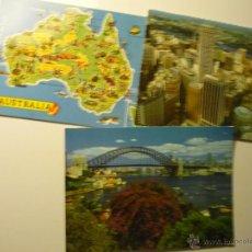Postales: LOTE POSTALES AUSTRALIA-SIDNEY. Lote 45250356