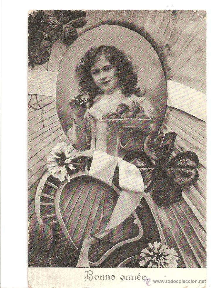 POSTALES POSTAL ROMANTICA AÑO 1906 SELLOS SELLO BELGICA (Postales - Postales Extranjero - Oceanía)