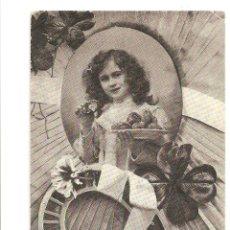Postales: LOTE B- POSTAL ROMANTICA AÑO 1906 SELLOS SELLO BELGICA. Lote 52140272