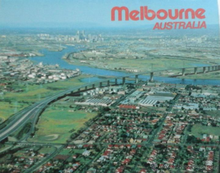11 POSTALES MELBOURNE.1981 (Postales - Postales Extranjero - Oceanía)