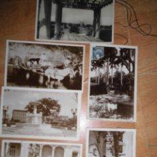 Postales: CUBA LA HABANA LOTE POSTALES ANTIGUAS ALGUNA CON SELLO. Lote 54349810