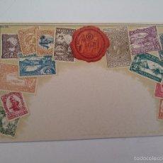 Postales: POSTAL TEMA FILATÉLICO SELLOS DE NUEVA ZELANDA. Nº 59.. Lote 57395944