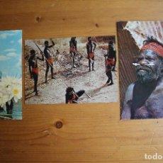 Postales: LOTE 3 POSTALES AUSTRALIA CIRCULADAS AÑOS 60 Y 70. Lote 61608500