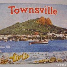 Postales: BLOC ÁLBUM ACORDEÓN CON IMÁGENES DE TOWNSVILLE AUSTRALIA. AÑOS 60.. Lote 73593191