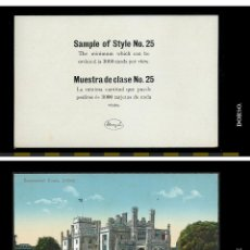 Postales: POSTAL AUSTRALIA. GOVERNMENT HOUSE. SYDNEY. POSTAL DE PROMOCION O SAMPLE.. Lote 74537743