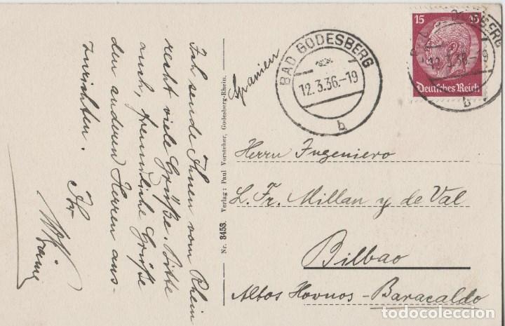 Postales: POSTALES POSTAL ALEMANIA AÑOS 30 BONITO MATA SELLOS - Foto 2 - 75135843