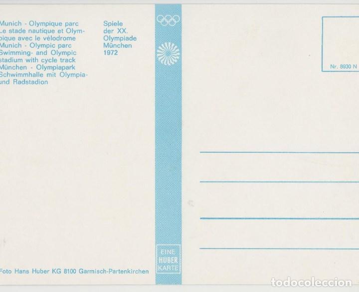 Postales: POSTALES POSTAL ESTADIO OLIMPICO MUNICH - Foto 2 - 76959453
