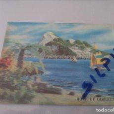 Postales: POSTAL EN RELIEVE / TRIDIMENSIONAL 3D ROCK OF GIBRALTAR - ED CASTLE MARKETING POST CARD AVION CIRC.. Lote 78327045