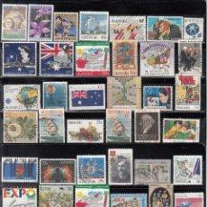 Postales: LOTE DE 50 SELLOS DIVERSOS. Lote 79706137