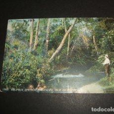 Postales: ISLE OF PINES NUEVA CALEDONIA SULPHUR SPRINGS SANTA FE. Lote 81074792