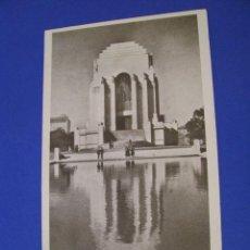 Postales: ANTIGUA POSTAL DE AUSTRALIA. SIDNEY. MEMORIAL DE ANZAC. SIN CIRCULAR.. Lote 96717019