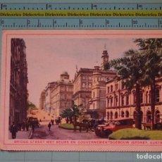 Postales: POSTAL DE AUSTRALIA. AÑOS 30 50. SYDNEY, BRIDGE STREET. 1145. Lote 98896407