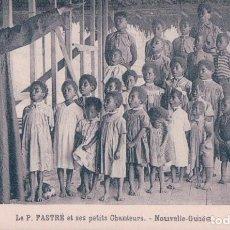 Postales: POSTAL ESCUELA NIÑOS DE PAPUA NUEVA GUINEA - OCEANIA. Lote 99173671